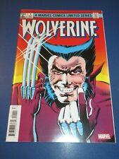 Wolverine Limited Series #1 Facsimile Reprint VFNM Frank Miller