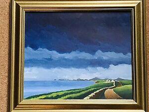 Stan Rosenthal 1933-2012 ~ Oil on Board of a Welsh Landscape