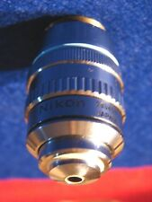 Nikon Plan 50 Microscope Objective 50X 0.85NA 160/- Oil