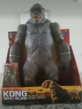 "Skull Island KING KONG 18"" MEGA Poseable Figure Walmart Exclusive Lanard 2017"