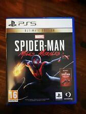 Marvel Die Spinne-Mann: Miles Morales-Ultimate Edition (Sony PlayStation 5, 202...