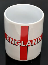 Official Licensed FA England Football White Tea Coffee Mug St George Cross Gift