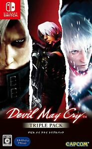 Devil May Cry Triple Pack 1,2 & 3 Nintendo Switch English In stock now!