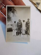 WW2 INDIAN ARMY FUN  PHOTOGRAPH  85 X 65 mm   f