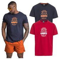 Trespass Heron Mens Printed T-Shirt Short Sleeve Cotton Top