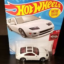 New 2019 Hot Wheels Nissan 300ZX Twin Turbo 110/250 ~ 3/5 Nissan Series (White)