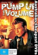 Pump Up the Volume DVD NEW, FREE POSTAGE WITHIN AUSTRALIA REGION 4