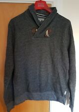 mens TED BAKER sweater top jersey size 4 XS Small grey blue