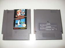 Super Mario Bros + Duck Hunt NES Nintendo Official Excellent PAL A