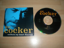 JOE COCKER CD SINGLE UNCHAIN MY HEART (LIVE EP) 4 TRACK EX