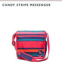 ..TOMMY HILFIGER CAnDY STRIPE CROSSBODY/MESSENGER  BAG -NEW