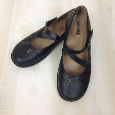 ORTHAHEEL MYLA Women's Black Leather Shoes Mary Jane Style Comfort Size 7.5