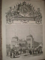 Paris International Exhibition Palace of the Bey of Tunis & Tunisia section 1867