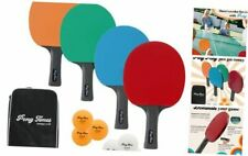 New listing Ping Pong Paddles Set of 4 - Table Tennis Racket Set Includes 4 Table Tennis