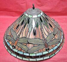 Tiffany Lampenschirm für Hängelampe Deckenlampe mit Libellen-Motiv