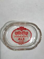 New ListingOld Tap Select Stock Ale Acl Painted Glass Ashtray Fall River Massachusetts