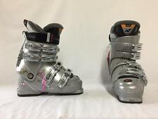 Nordic Women's F 10 Snow Ski Boots Size 6 Mondo 23.5 Color Silver NEW