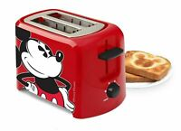 Disney Mickey Mouse 2-slice toaster Office Home Birthday Gift       NIB