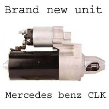 Brand new unit Mercedes benz CLK 1997 1998 1999 - 2010 starter motor
