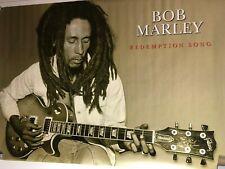 HUGE SUBWAY POSTER Bob Marley Redemption- Song Marijuana One Love Rasta classic