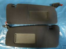 BMW 3er E46 Sonnenblenden links rechts schwarz M-Paket beleuchtet