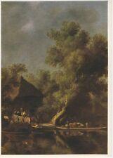 Ansichtskarte Salomon van Ruysdael Die Fähre - ungelaufen unbeschrieben AK