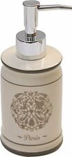 Evideco Ceramic Soap and Lotion Dispenser Lotion pump Paris Romance Champagne