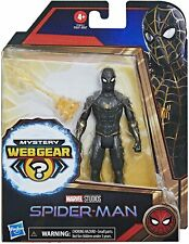 NEW SEALED 2021 Marvel Spiderman No Way Home Black Suit Action Figure