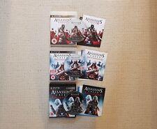 Assassin's Creed 2, Brotherhood & Revelations, PS3 (PlayStation 3, 2009-2011)