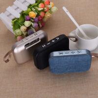 Mini Wireless Speaker Super Bass Aux USB Stereo Handsfree Bluetooth Portable