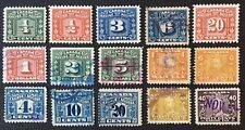 Lot20 Canada Revenue Stamps
