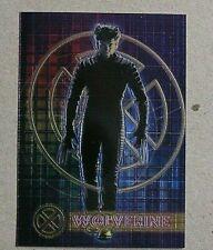 Marvel-X Men-The Movie-Topps-Comic-Book-Hugh Jackman-Wolverine-Film-Chrome Card