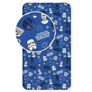 Stars Wars Galaxy Einzel Bettlaken Blau 100% Baumwolle Stormtrooper