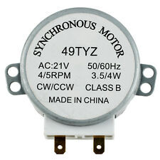 Microwave Oven Turntable Synchronous Motor 3W 5/6RPM AC 21V 50/60Hz LW