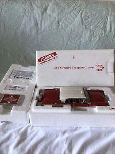 Danbury Mint 1957 Mercury Turnpike Cruiser 1/24 W/ Box