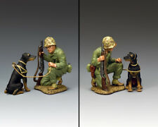 KING & COUNTRY U.S.M.C. USMC052 U.S. MARINE PACIFIC WAR DOG MB
