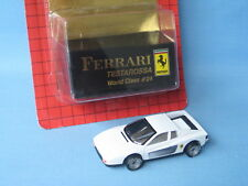 Matchbox World Class 24 Ferrari Testarossa White Italian Sports Car Toy 75mm