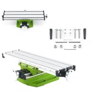 2 Achsen Auflagetisch Maschinenschraubstock Kreuztisch Fräse Koordinaten Tisch