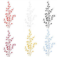 Beautiful Embroidered Plum Blossom Flower Patch Sew/Iron on Applique Motif Craft