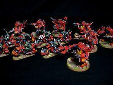 Ork Warbiker Mob Painted Warhammer 40k Orks Speed Freeks COMMISSION SERVICE