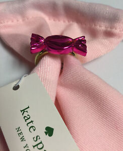 Kate Spade New York Candy Shop Wrapper Ring Size 8 New