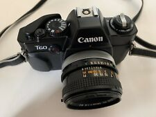 Canon T60 SLR Camera + 50mm Lens. Automatic Timer