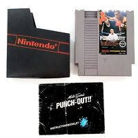 Mike Tyson's Punch-Out Nintendo Entertainment System Authentic w/ Manual Tested