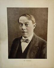 PHOTOGRAPHIE en héliogravure -PORTRAIT ORIGINAL 1912 -PRINE-RIGADIN - très RARE