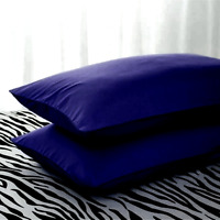 Fabulous Super Soft 100% Egyptian Cotton  200TC Plain Dyed Housewife PillowCases
