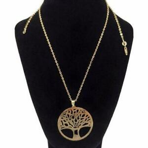 Tree of Life Necklace Solid Gold