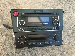 Subaru Liberty 03 - 09 Genuine McIntosh Stereo Climate Control Fascia 6 CD Sound
