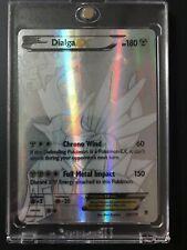 Dialga EX Secret Rare 122/119 Holo Full Art XY Phantom Forces Silver NM/M