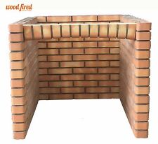 Outdoor brick 90cm pizza oven base for 90cm woodfired pizza oven