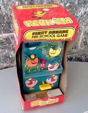 Vintage Ultra Rare Console Pre School Pre Game & Watch Nib Peck'em Table Top